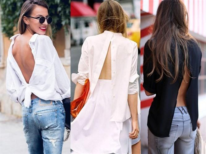 Trend: Gömleği Ters Giymek