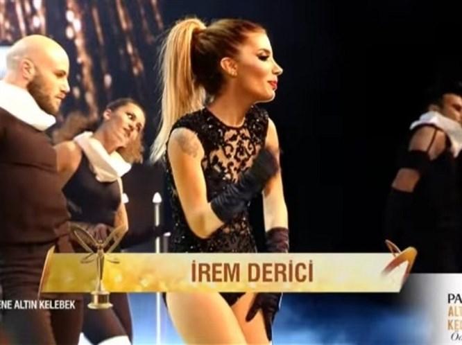 Pantene Altın Kelebek Ödül Töreni'nde İrem Derici Damgası! (Video)