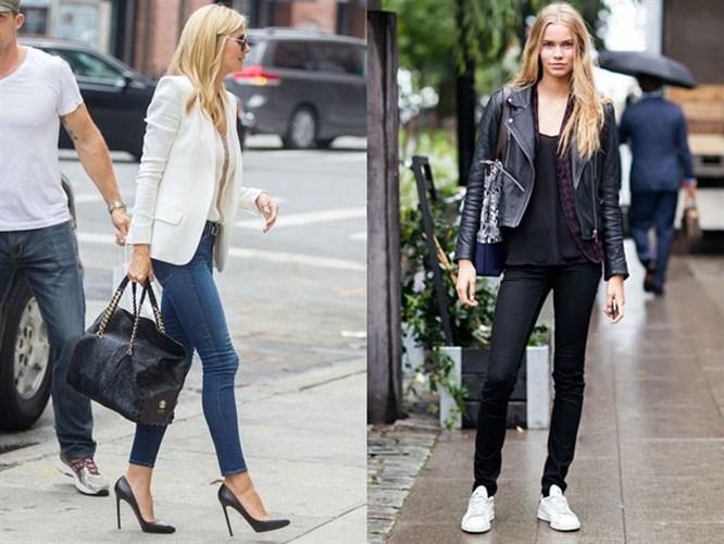 Skinny Jeanlere  Yakışan 5 Ayakkabı