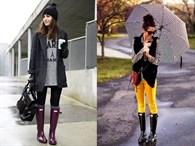 Yağmurlu Havalar İçin En Güzel Stil Önerileri
