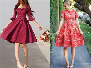 En Tatlı Diz Üstü Elbise Modelleri