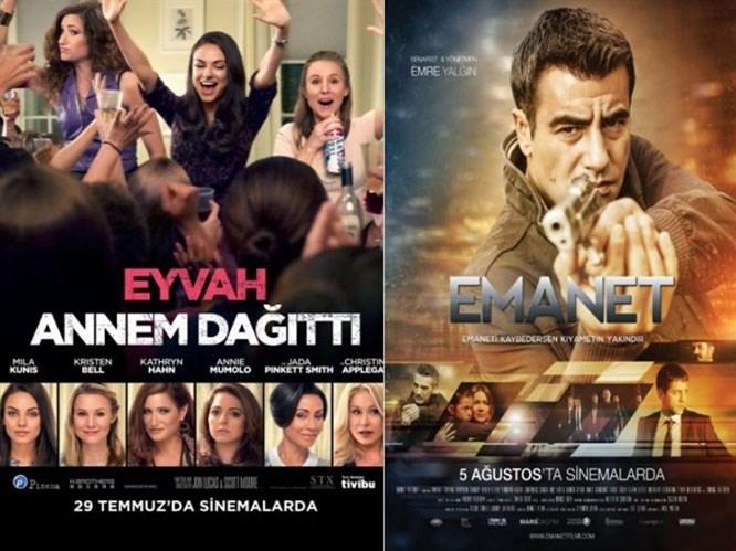29 Temmuz & 11 Ağustos Vizyona Giren Filmler