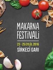 """Tarihi Sirkeci Garı'nda """"Makarna Festivali"""" Başlıyor!"""