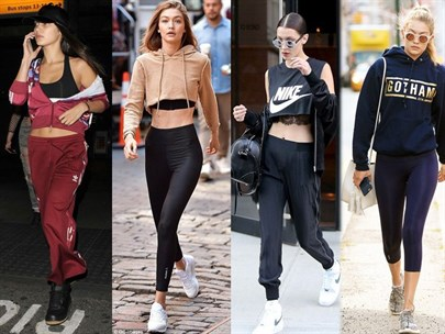 Bella Ve Gigi Hadid'in Spor Stili