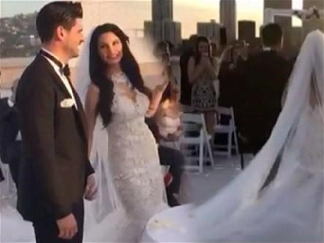Tolgahan Sayışman ile Almeda Abazi Evlendi!