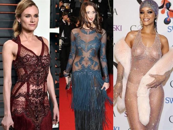 Modanın Yeni Gözdesi: Şeffaf Elbiseler