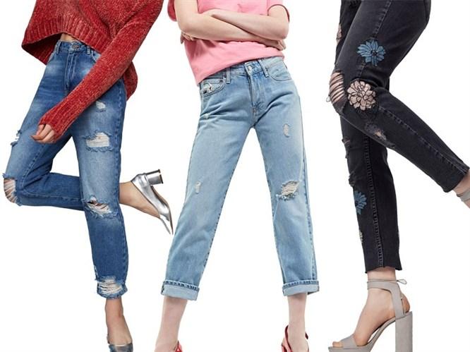 2017 Yırtık Jean Modelleri!