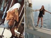 Selfie Çekmek İçin Hayatını Tehlikeye Attı!