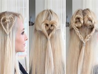 14 Şubat İçin Pratik Saç Modelleri