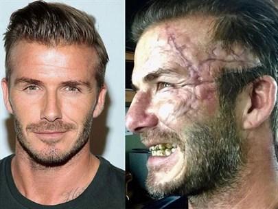 David Beckham Görenleri Korkuttu!
