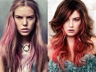 Baş Döndüren Renkli Ombre Trendi