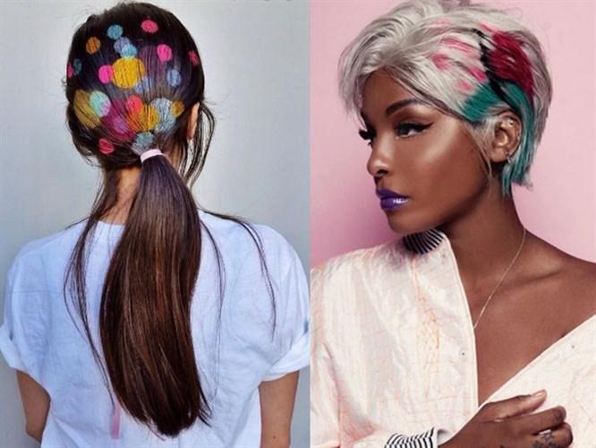 Yeni Trend: Graffiti Saç