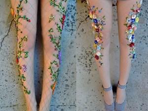 Yaza Damgasını Vuracak Çiçekli Çorap Trendi!