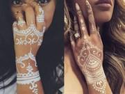 Yeni Moda:Simli Hint Kınası