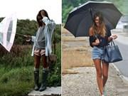 Yaz Yağmurları İçin Kombin Önerileri