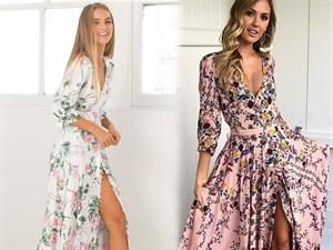 Çiçekli Elbiseler Nasıl Kombinlenir?
