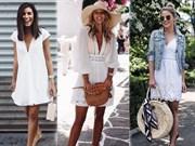 Beyaz Elbiseler Nasıl Kombinlenir?