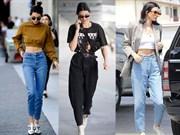 Kendall Jenner'dan Anne Jean Giyme Dersleri...