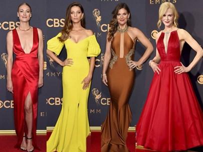 69. Emmy Ödülleri Kırmızı Halı Kıyafetleri