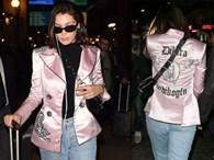 Bella Hadid'in Ceketinde Türk Tasarımcı İmzası