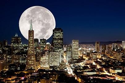 Yılın İlk Süper Ay'ı Gerçekleşiyor!