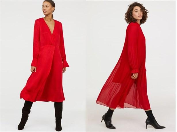 81323ca97b7d8 Yılbaşı gecesi için kırmızı elbise tercih ederseniz, çok uzun süre  hafızlarda yer edersiniz.