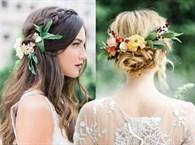 İlkbahar Düğünlerine Özel Gelin Saçı Modelleri