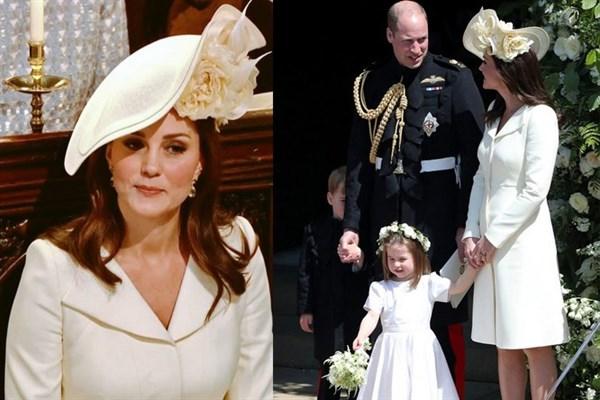 Kate Middleton, Meghan ve Harry'nin Düğününde