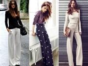 Geniş Paça Pantolonlar İçin Stil Önerileri