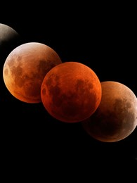 17 Temmuz Oğlak Burcunda Parçalı Ay Tutulması
