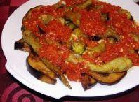 Patlıcan-Biber Kızartması