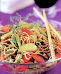 Soya Soslu Noodle