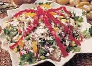 Mercimekli Pirinç Salatası