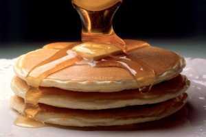 Ballı pancake