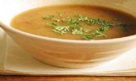 Vejetaryen Soğan Çorbası
